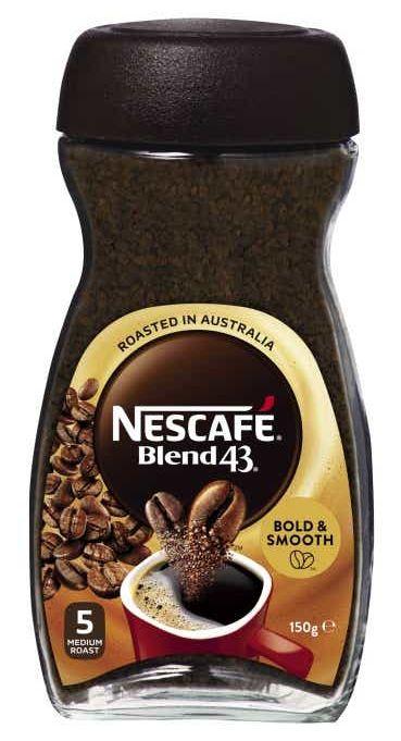 Nescafe Blend 43 instant coffee