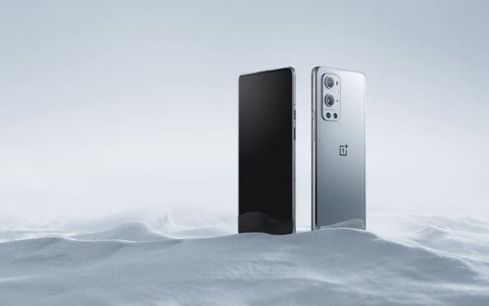 OnePlus 9 Pro back and front