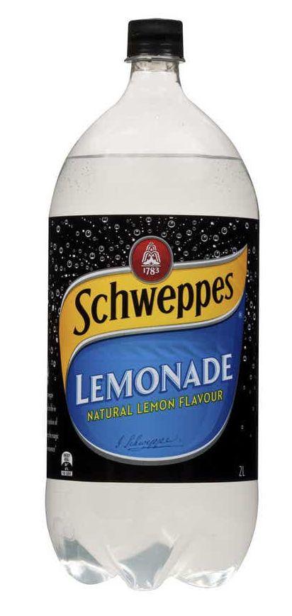 Schweppes lemonade review