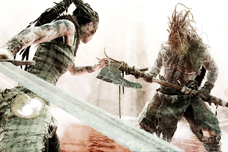 Hellblade: Senua's Sacrifice, available on Game Pass for PC