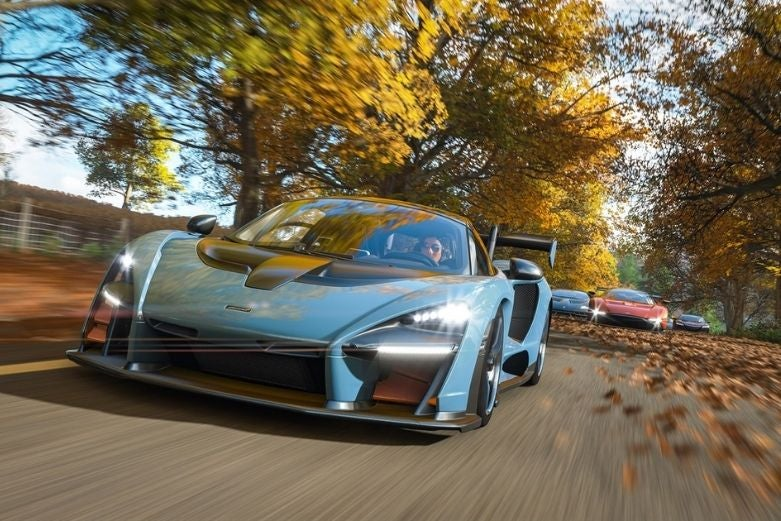 Forza Horizon 4, available on Game Pass for PC