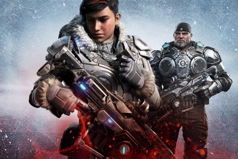 Gears 5, available on Game Pass for PC