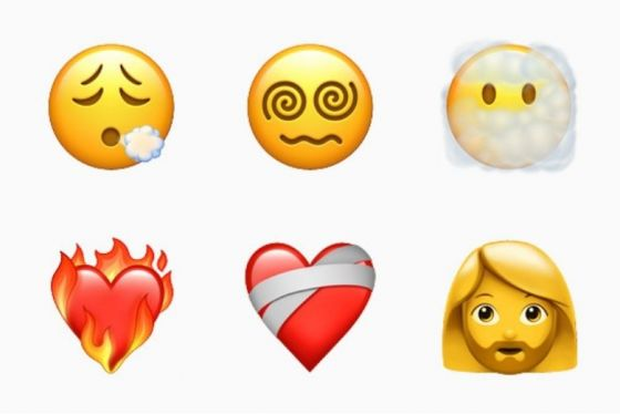 A range of new emoji from Apple