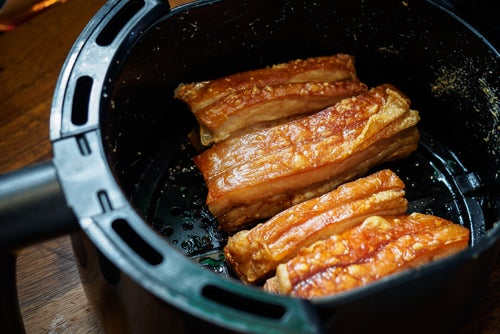 Can you cook raw meat in air fryer?