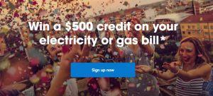Alinta Energy $500 bill credit