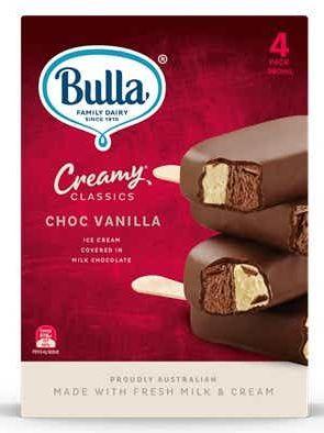Bulla ice cream multipack review