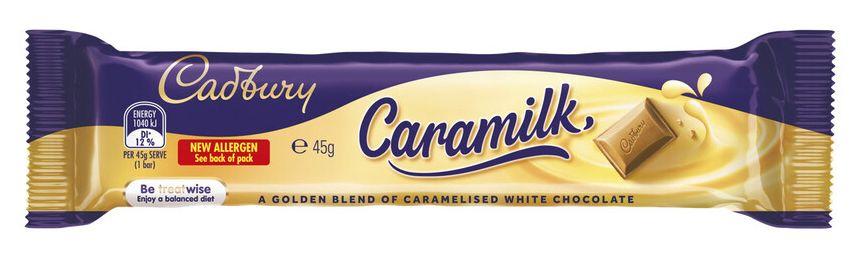 Caramilk chocolate review