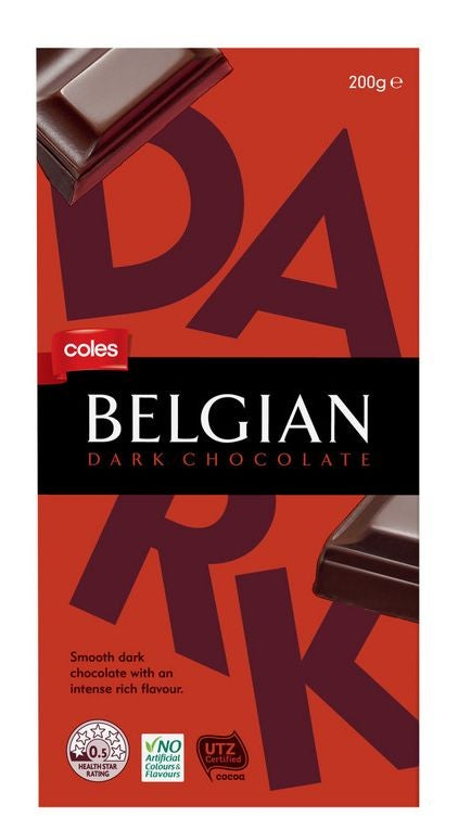 Coles chocolate review