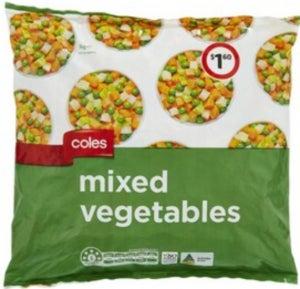 Coles frozen vegetables review