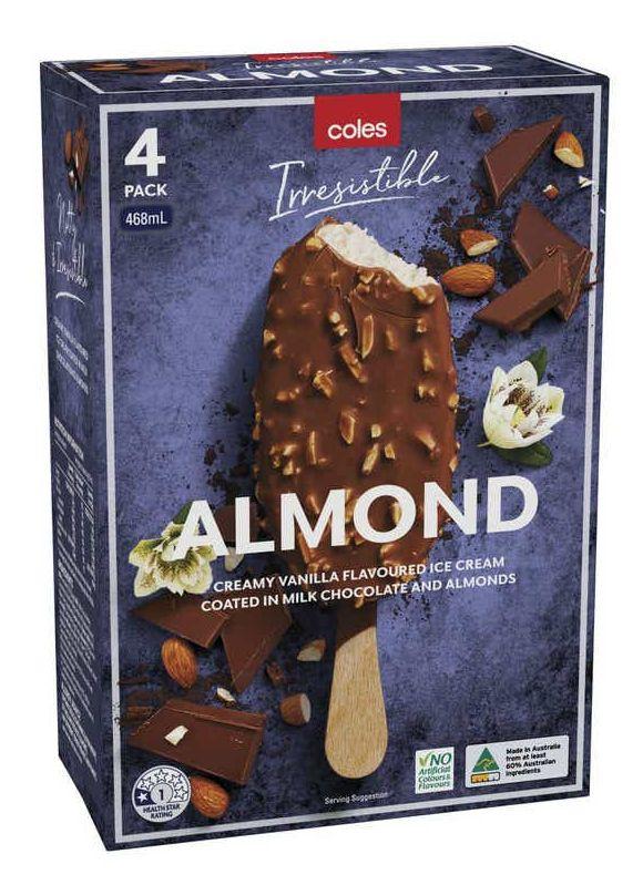 Coles ice cream multipack review