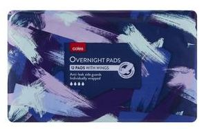 Coles tampons and sanitary pads review