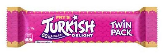 Fry's Turkish Delight chocolate review
