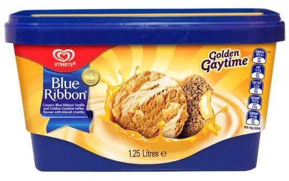 Streets Blue Ribbon tub ice cream review