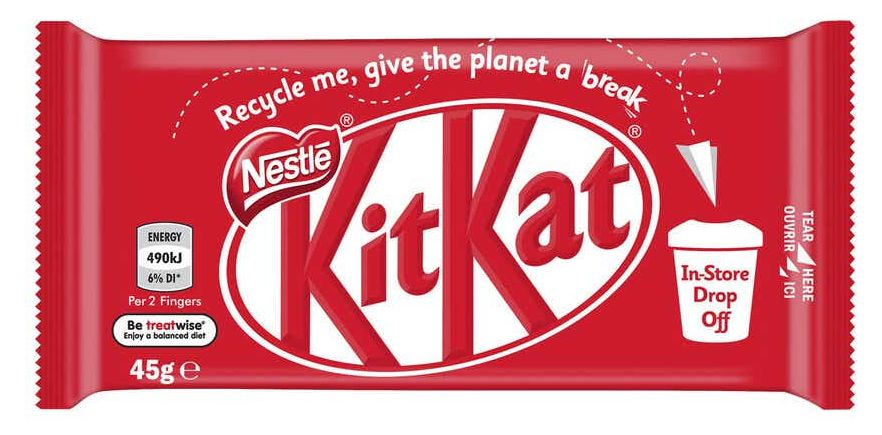 KitKat chocolate review