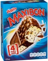 Maxibon ice cream review