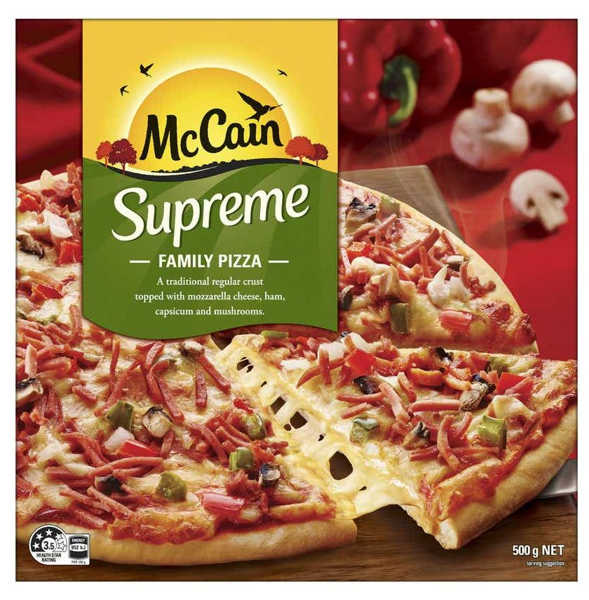 McCain pizza review