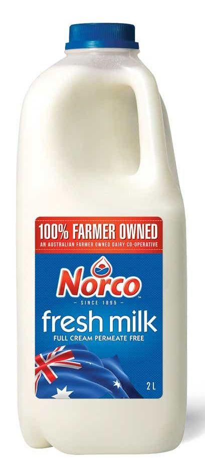Norco fresh full cream milk