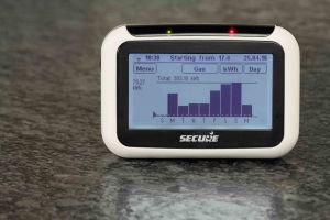 Smart meter with live-usage information