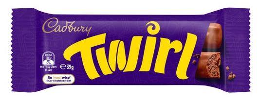 Twirl chocolate review