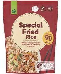 Woolworths microwave rice