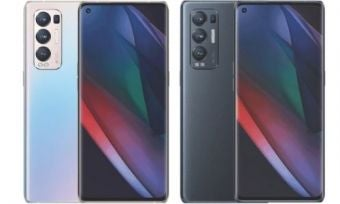 Four OPPO Find X3 Neo phones