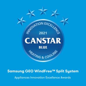 Heating & Cooling (Samsung GEO WindFree™ Split System)