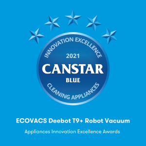 Cleaning Appliances (ECOVACS Deebot T9+ Robot Vacuum)