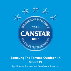 Outdoor Entertainment (Samsung The Terrace Outdoor 4K Smart TV)