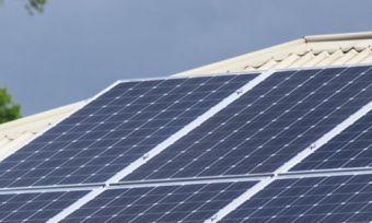 Solar Panels on Australian Roof