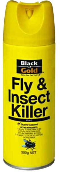 Black and Gold bug sprays review