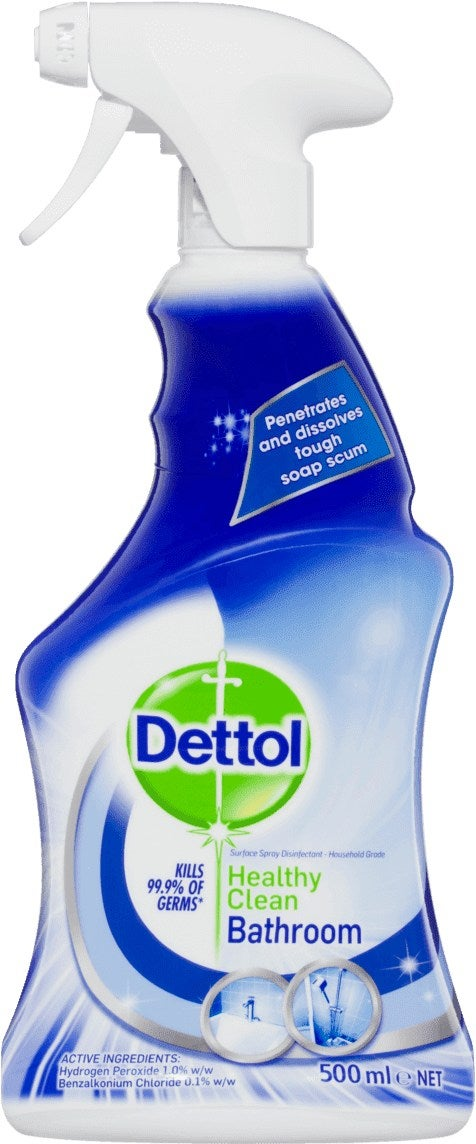 Dettol bathroom cleaner review