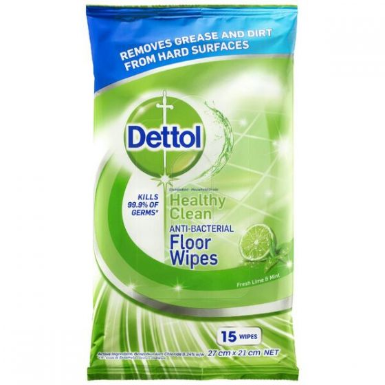 Dettol floor cleaner wipes review