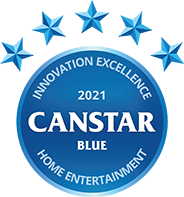 Canstar Blue home entertainment award