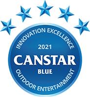 Canstar Blue outdoor entertainment award