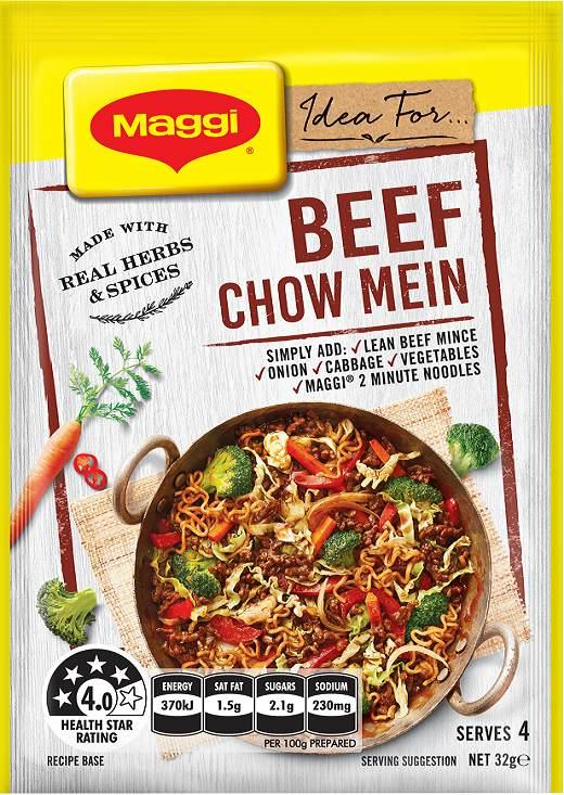 Maggi marinades and recipe bases review