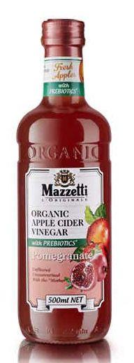 Mazzetti vinegar compared