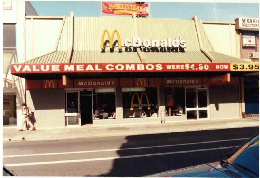 McDonald's Australia Big Mac birthday special