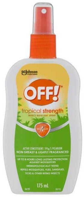OFF! mosquito repellent review