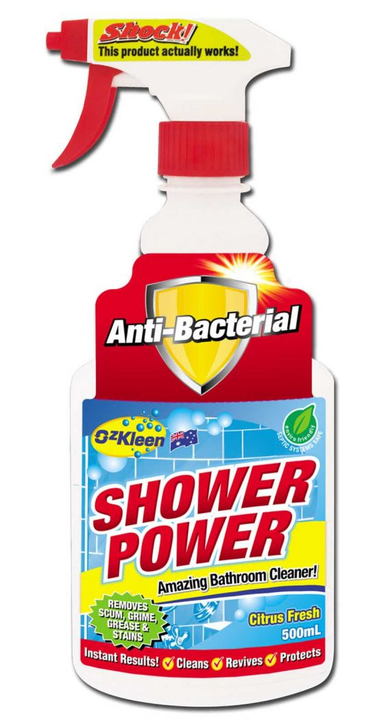 Shower Power bathroom cleaner review