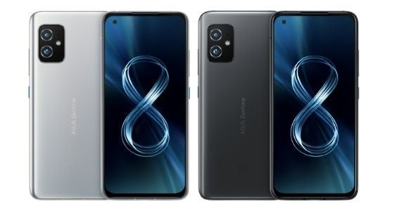 The ASUS Zenfone 8, available in two colours