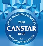 SA Electricity Provider Canstar Blue 2020 Award