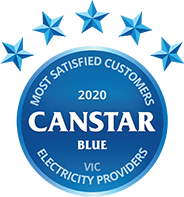 VIC Electricity Provider 2020 Canstar Blue Award