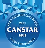 Most Satisfied Customers 2021 Mobile Broadband
