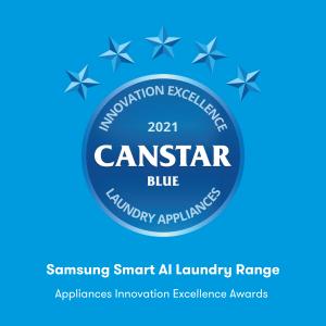Samsung smart AI appliances award