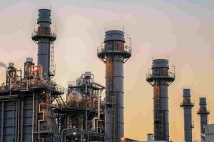 Natural gas-powered plant