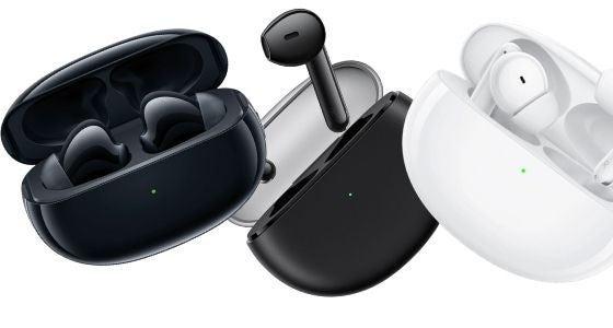 Three wireless earphones from OPPO