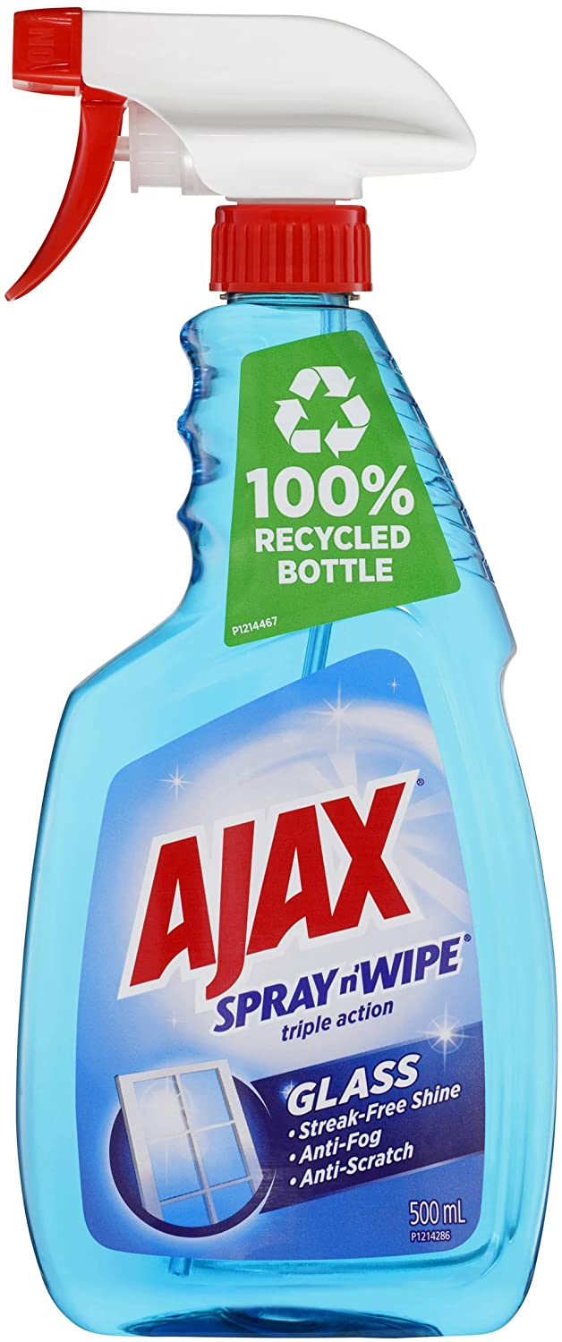 Ajax glass cleaner review
