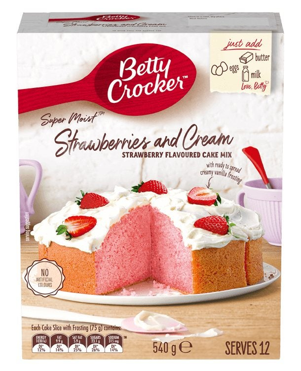 Betty Crocker packet baking mix review