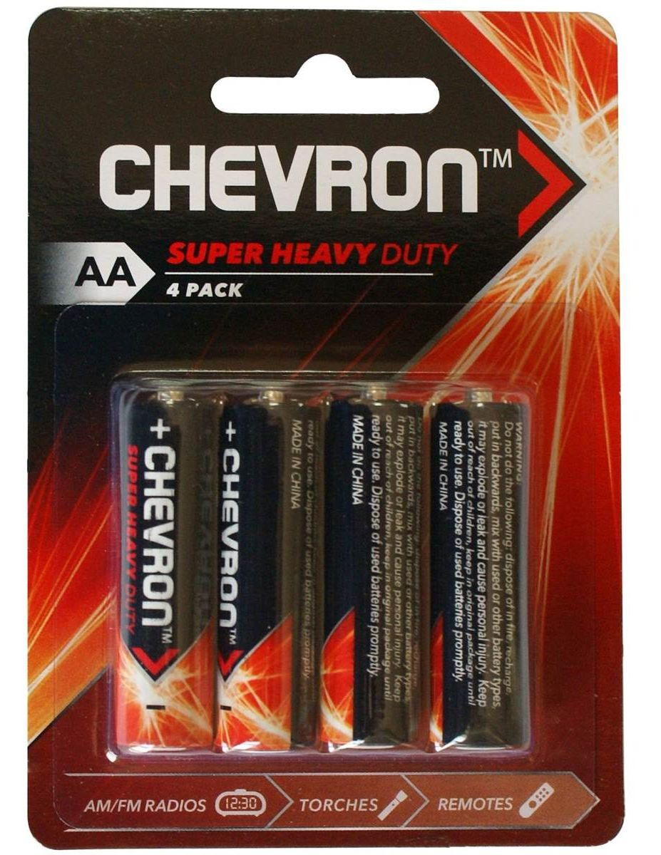 Chevron Woolworths batteries review