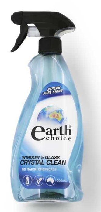 Earth Choice glass cleaner review